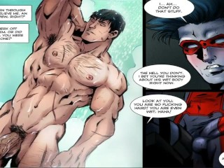 Batman Down In The Mouth Nightwing - Hentai Blithe Enlivening - Blithe Cartoon